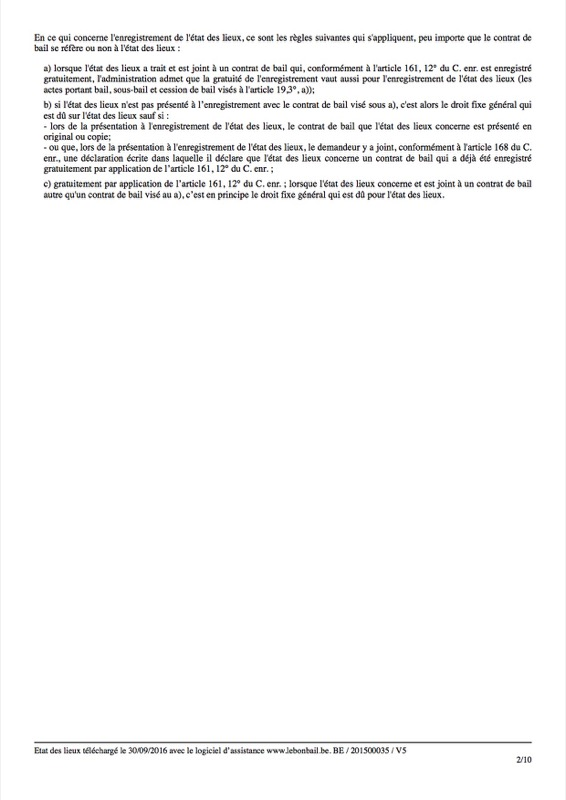 Exemple d'état des lieux - Page 2