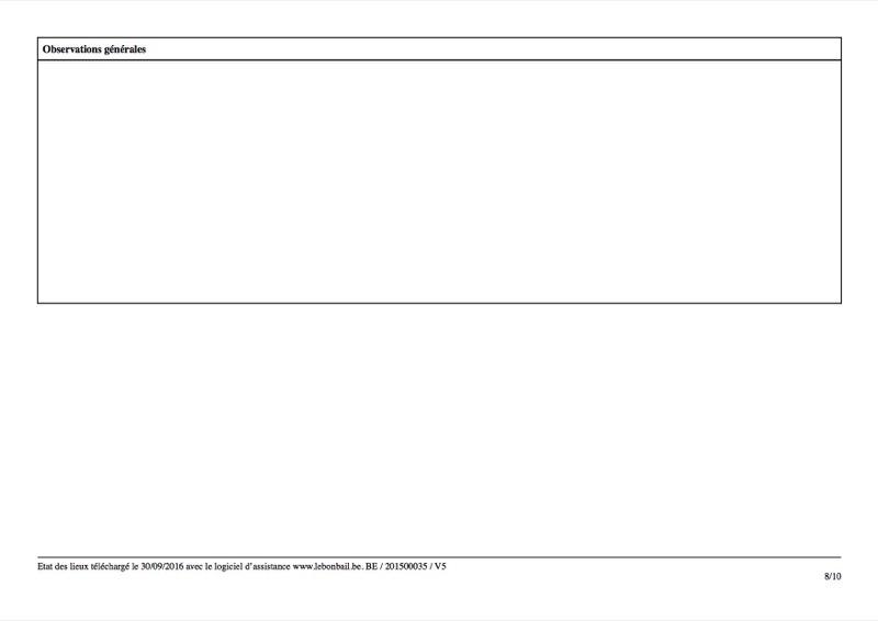 Exemple d'état des lieux - Page 8