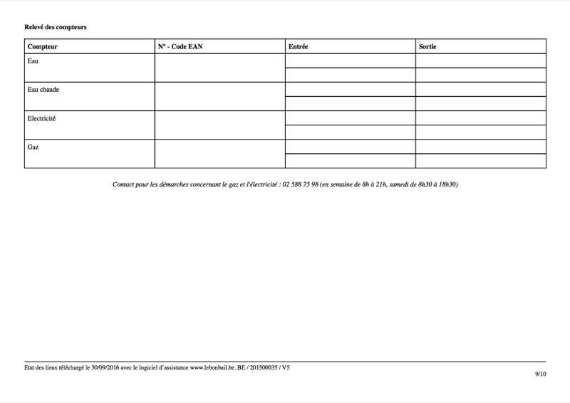 Exemple d'état des lieux - Page 9