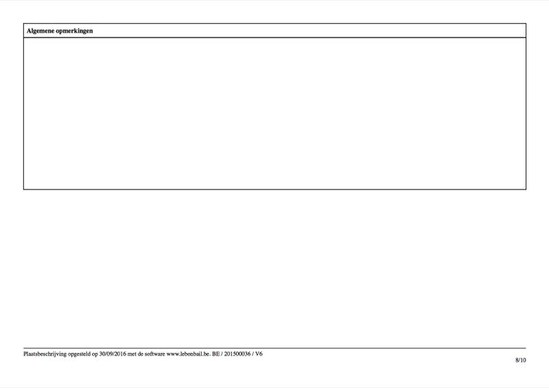 Voorbeeld van plaatsbeschrijving - Pagina 8