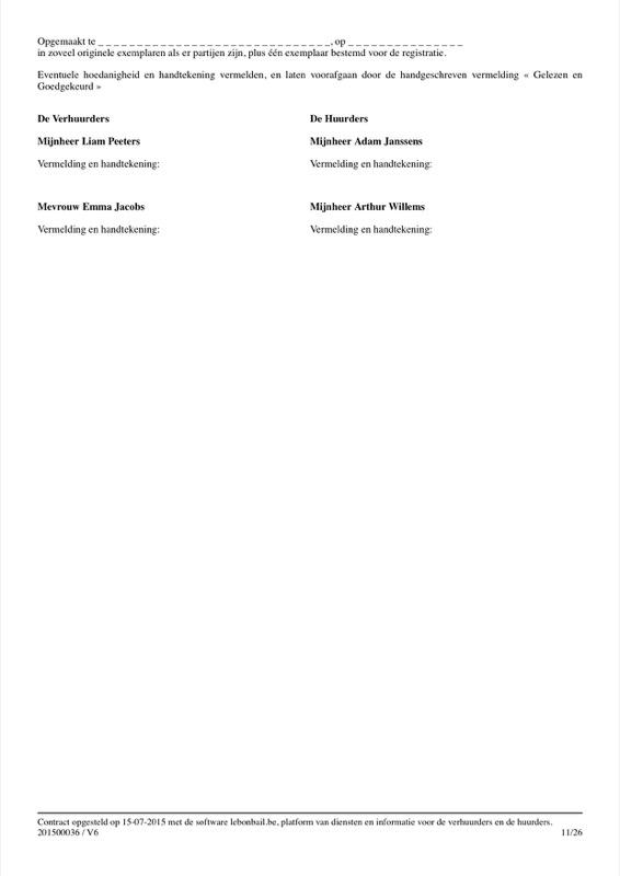 Voorbeeld van huurcontract - Pagina 11