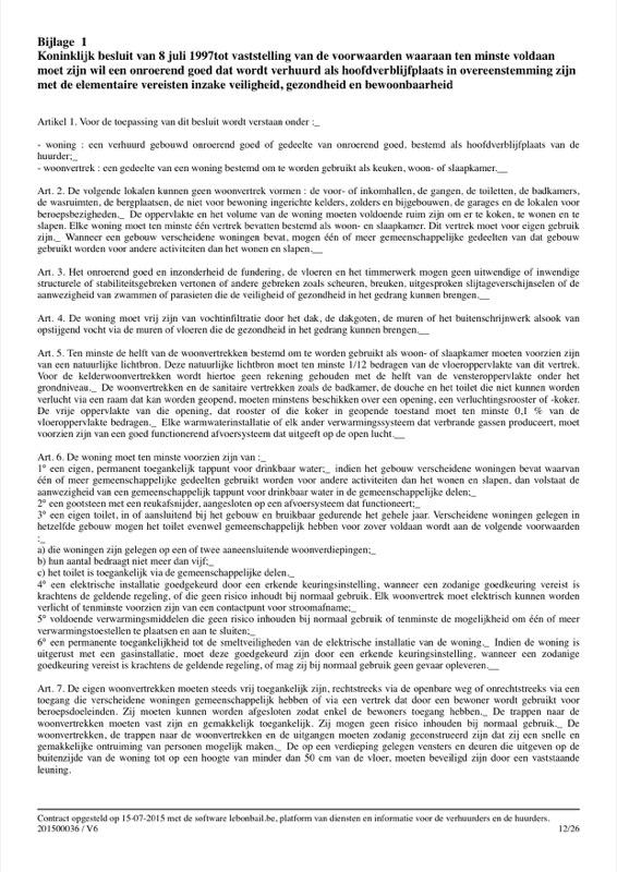 Voorbeeld van huurcontract - Pagina 12