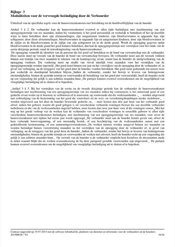Voorbeeld van huurcontract - Pagina 16