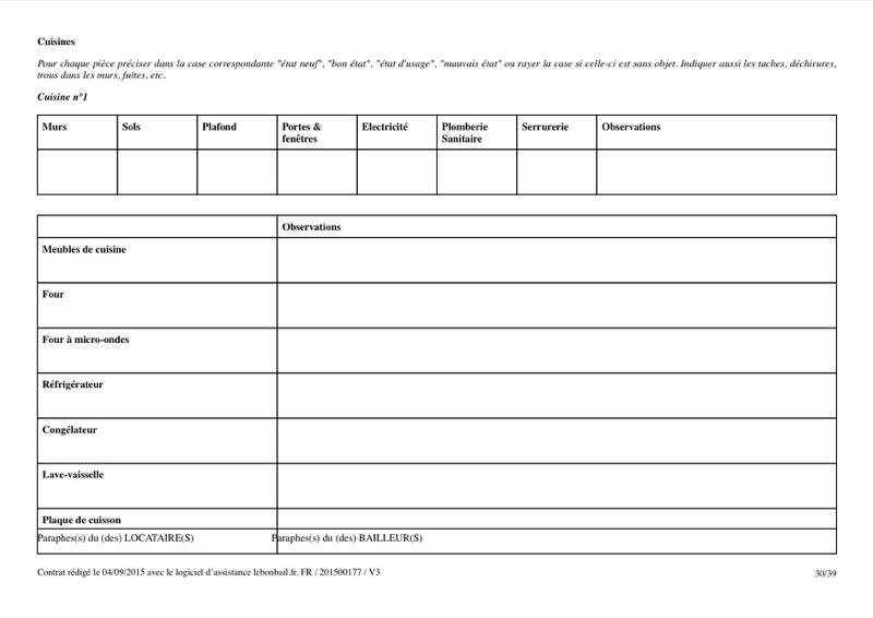 Exemple de contrat de bail - Page 30