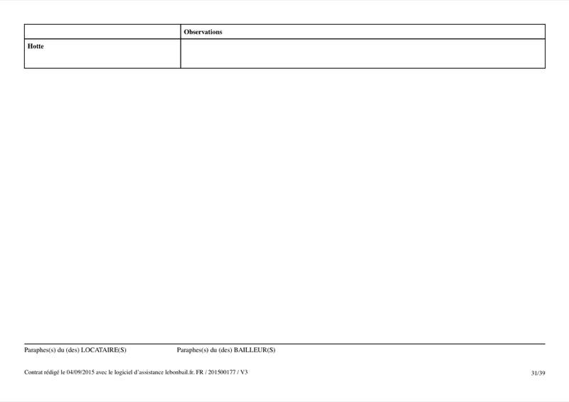 Exemple de contrat de bail - Page 31