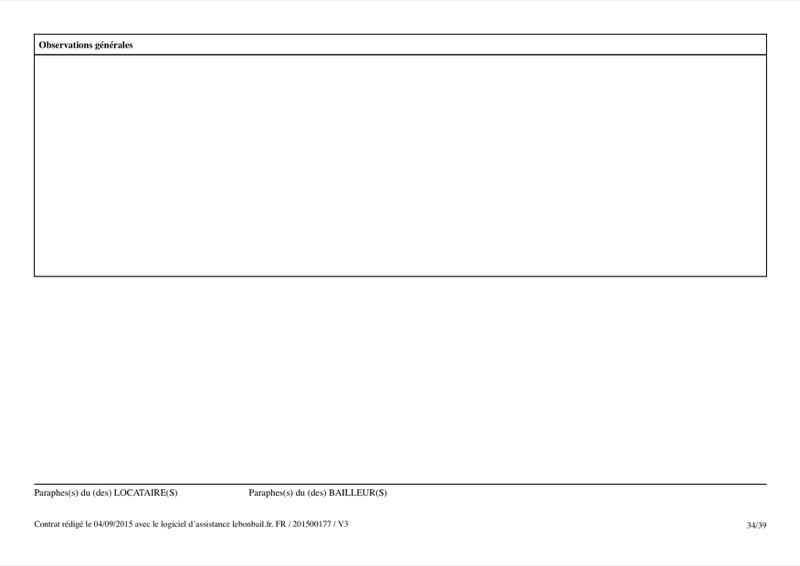 Exemple de contrat de bail - Page 34