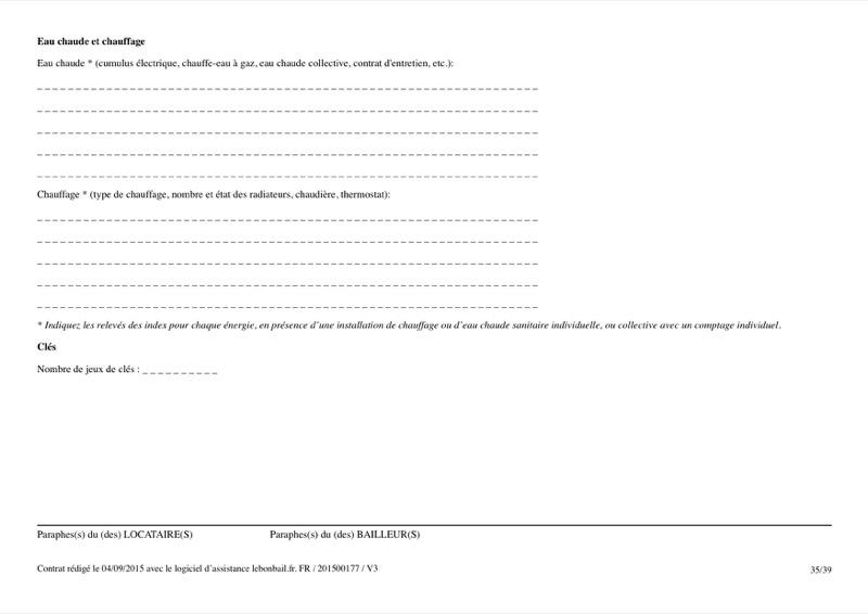 Exemple de contrat de bail - Page 35